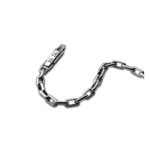chain Platinum necklace Pt950 ByEnzo jewelry initial