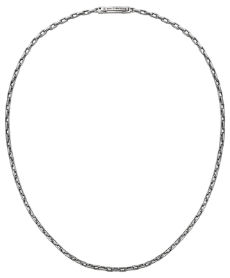 cable chain lock chain Platinum necklace Pt950 ByEnzo jewelry