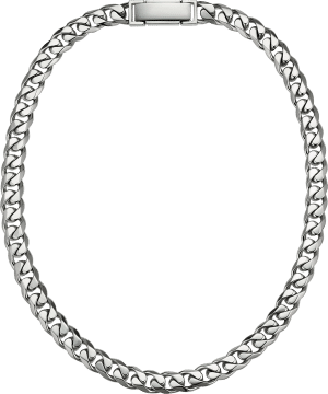 platinum 950 thick 10mm curb chain necklace for men from ByEnzo Jewelry