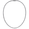 Men's Platinum Necklace Box Chain-3.8mm width ByEnzo Jewelry